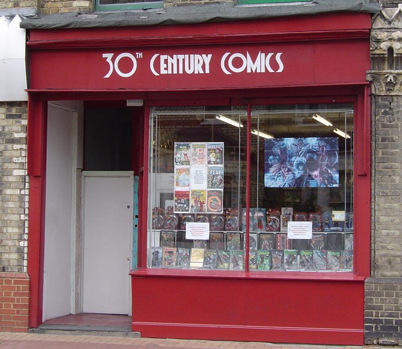 30th Century Comics shopfront