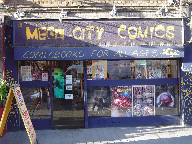 Mega-City Comics shops
