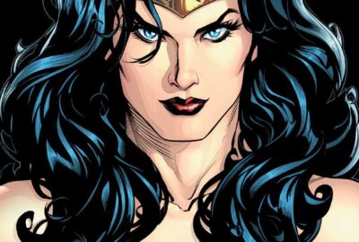 Who is Wonder Woman? TP cover