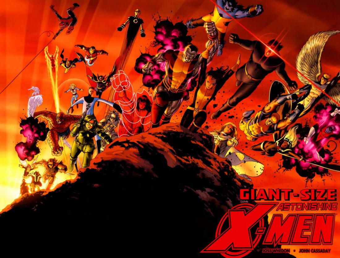 Giant-Size Astonishing X-Men cover