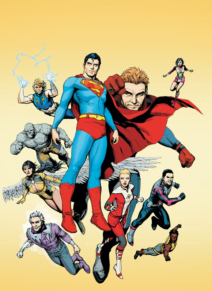 From A Library: Superman and the Legion of Super-Heroes
