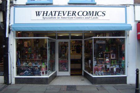 Comic Book Shop Memories: Canterbury