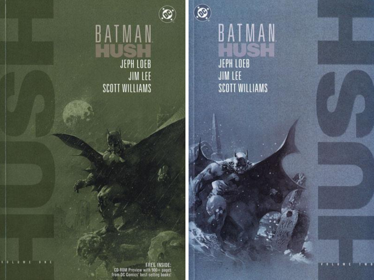 From A Library: Hush Vol 1 & 2