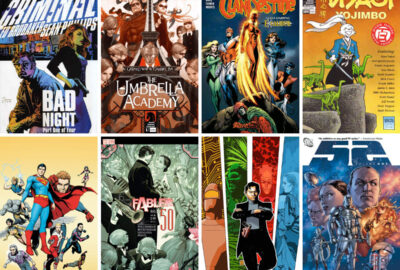 Personal favourite comics books of 2008