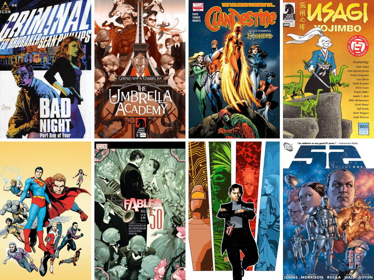 You are currently viewing My Personal, Definitely NOT 'Best Of' Top Ten Comics Of 2008