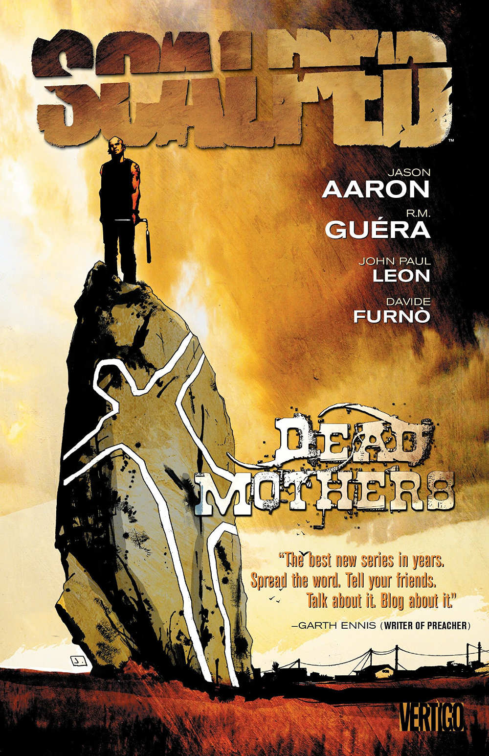Scalped: Dead Mothers cover