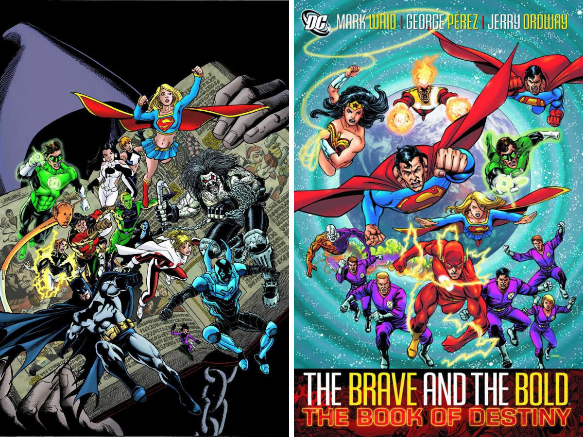 You are currently viewing From A Library – The Brave And The Bold Volumes 1 and 2