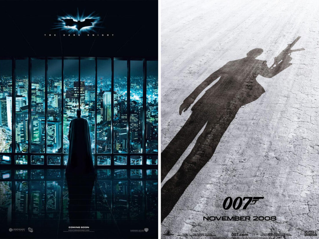 Comparing UK and US box office 2008