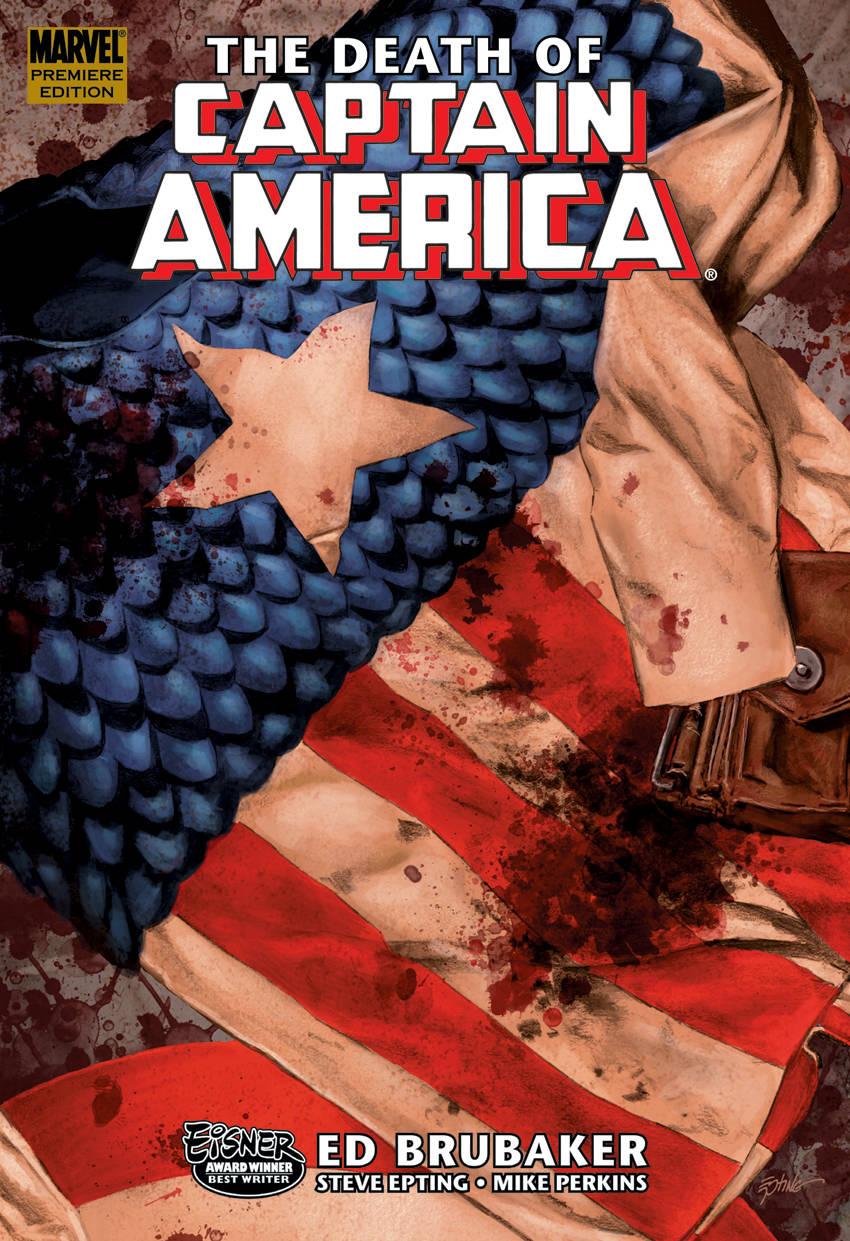 From A Library – Captain America: The Death Of Captain America Volume 1