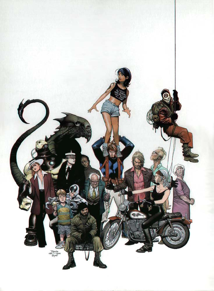 Wildcats by Travis Charest