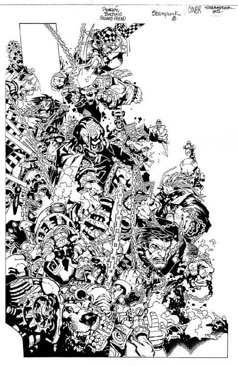Steampunk #5 by Chris Bachalo