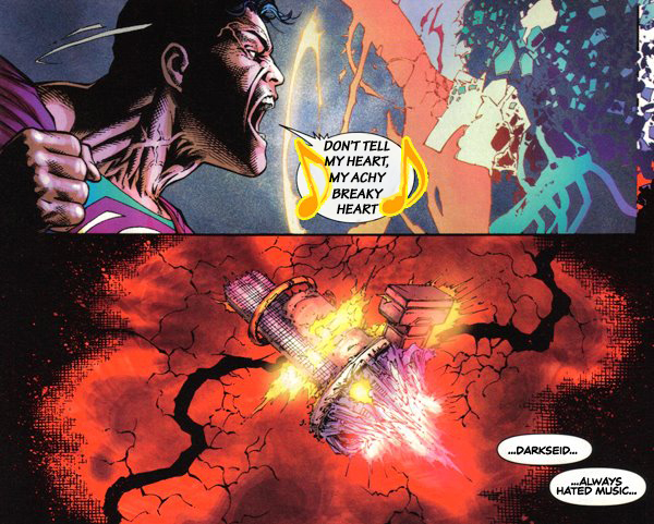 Meme: Final Crisis #7 Superman Song