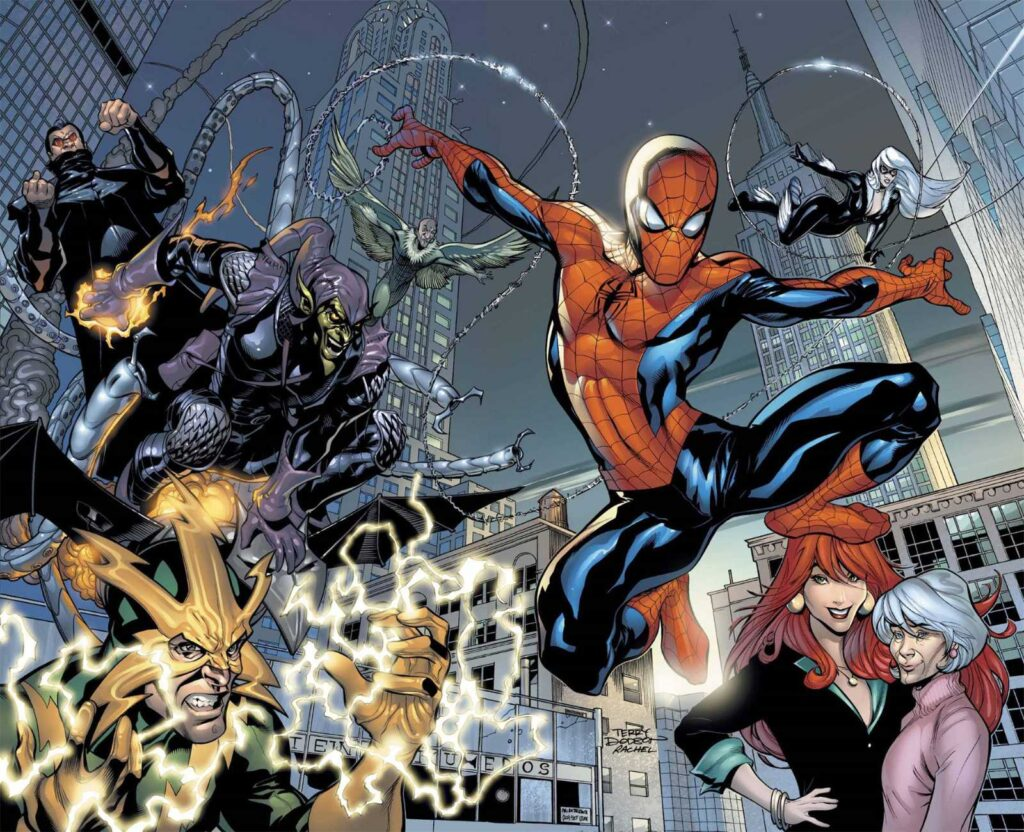 Spider-Man cover by Terry Dodson