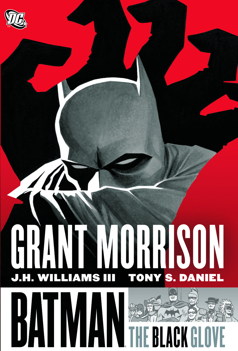 You are currently viewing From A Library – Batman: The Black Glove