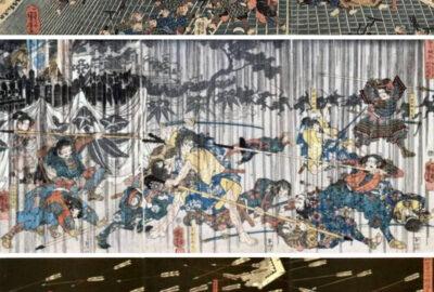 Kuniyoshi Triptychs