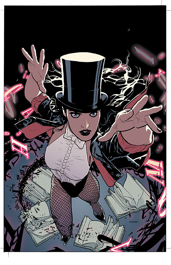 Seven Soldiers: Zatanna #4 cover by Ryan Sook