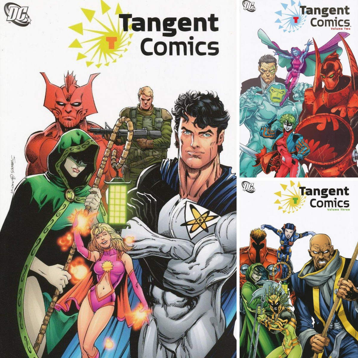 From A Library – Tangent volumes 1–3