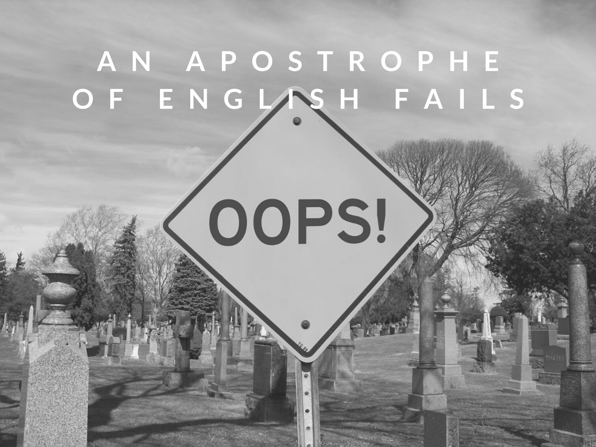 You are currently viewing An Apostrophe Of English Fails?