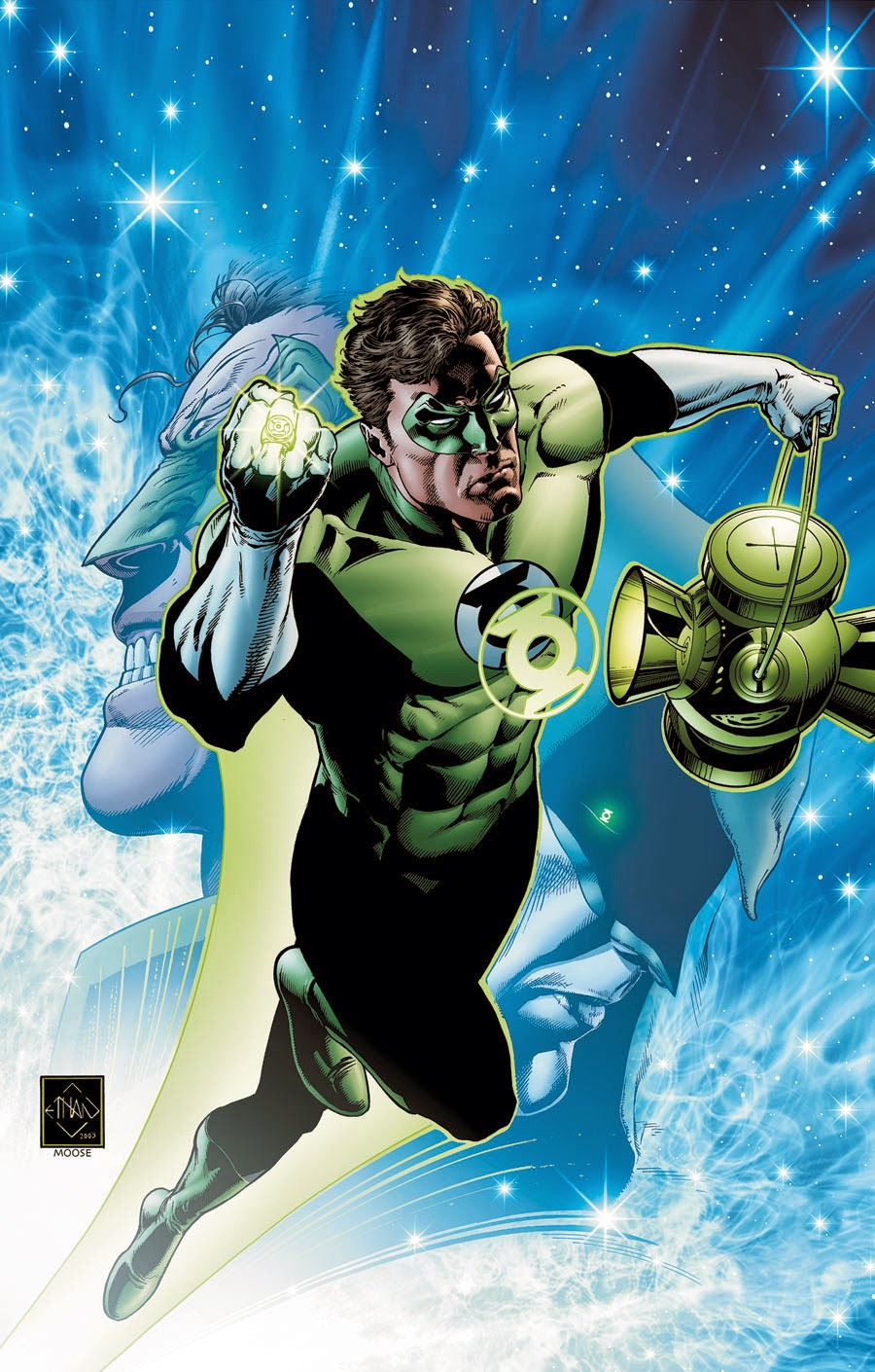 From A Library – Green Lantern: Rebirth
