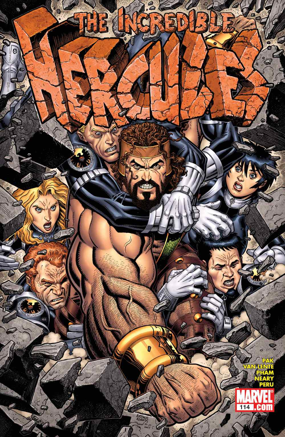 From A Library – The Incredible Hercules: Against The World