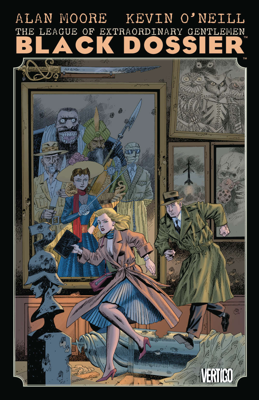Read more about the article Comic Book Review – The League of Extraordinary Gentlemen: The Black Dossier