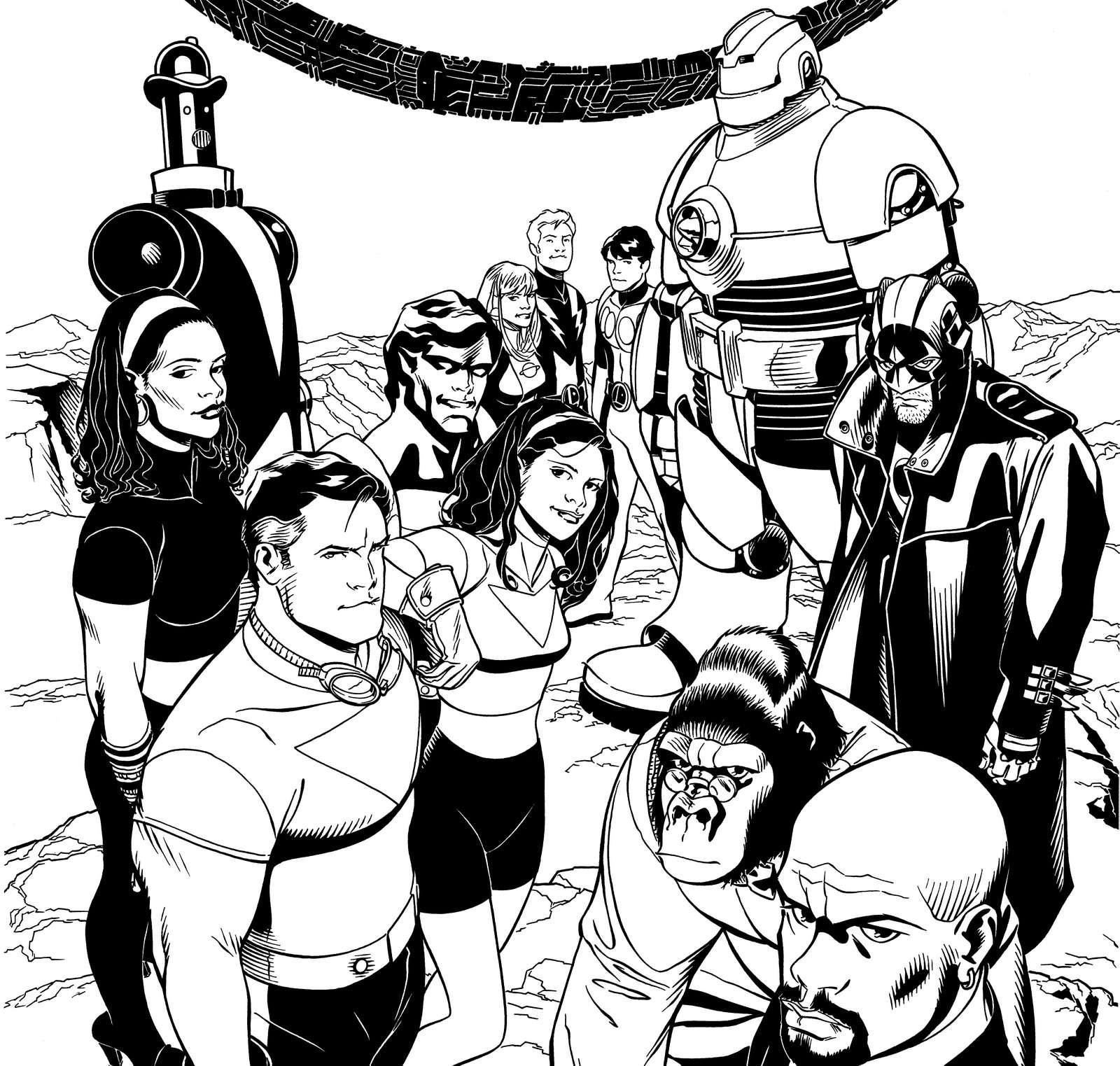 Comic Book Artist: Chris Sprouse