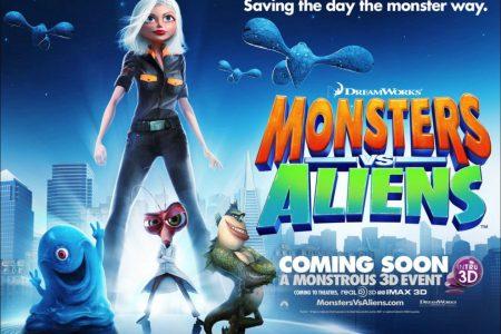Film Review: Monsters Vs Aliens