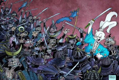 Usagi Yojimbo #119 cover