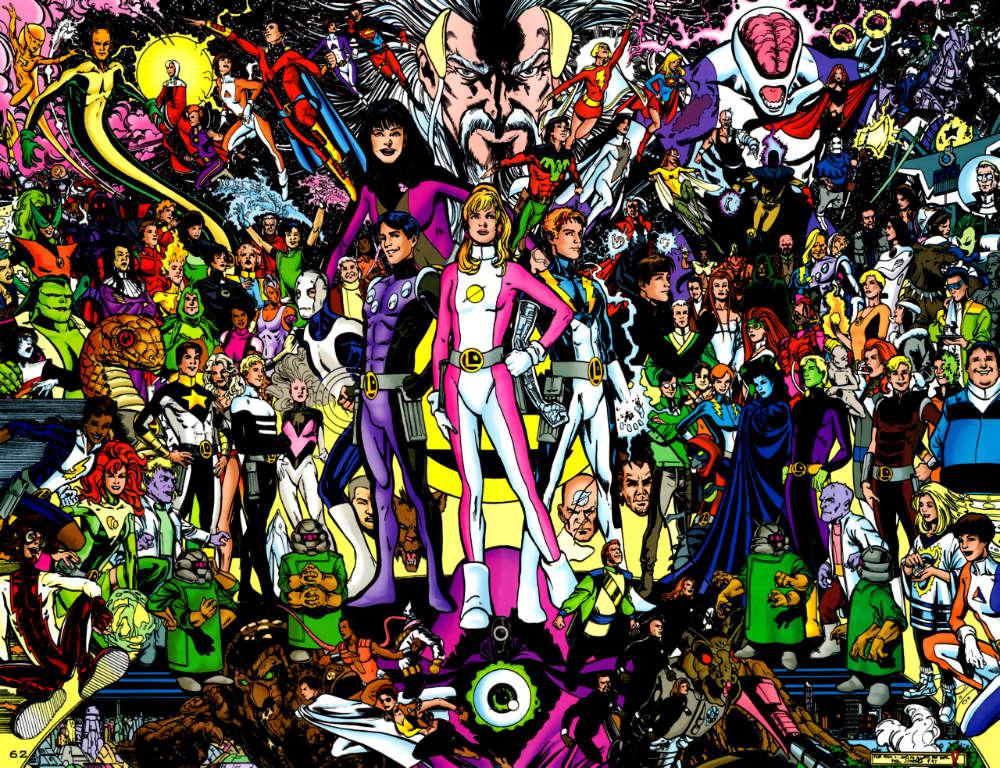 Legion of Super-Heroes by Phil Jimenez