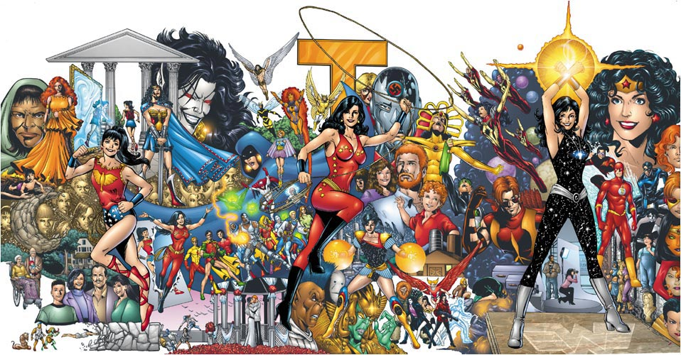 Who Is Donna Troy by Phil Jimenez