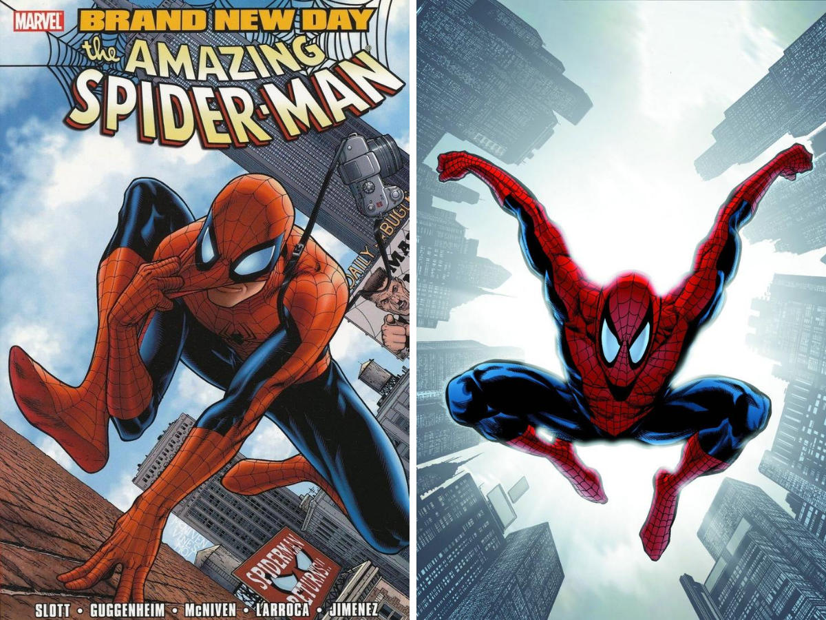 From A Library – Spider-Man: Brand New Day volumes 1 & 2
