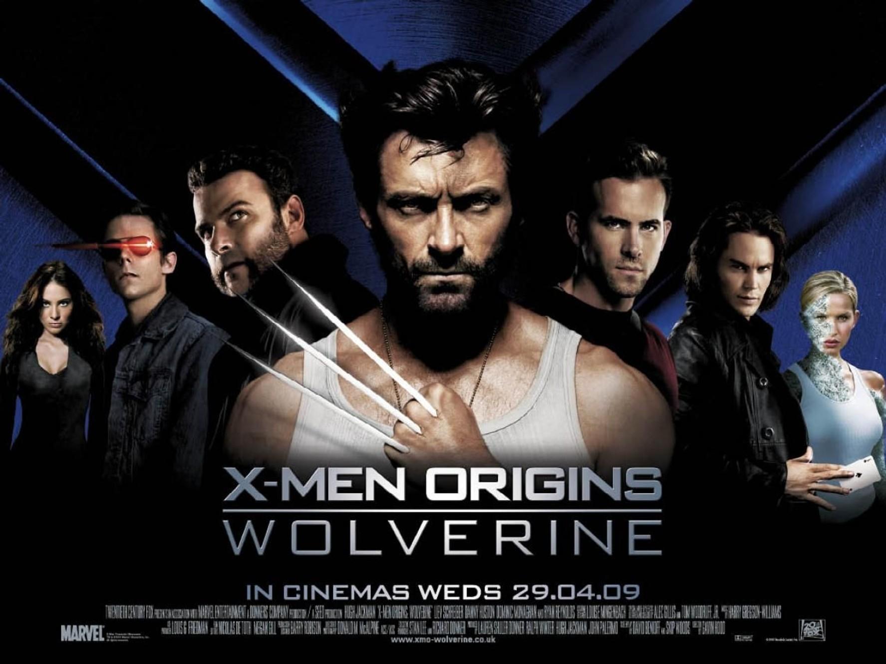 X-Men Origins: Wolverine Poster Does Not Make Sense