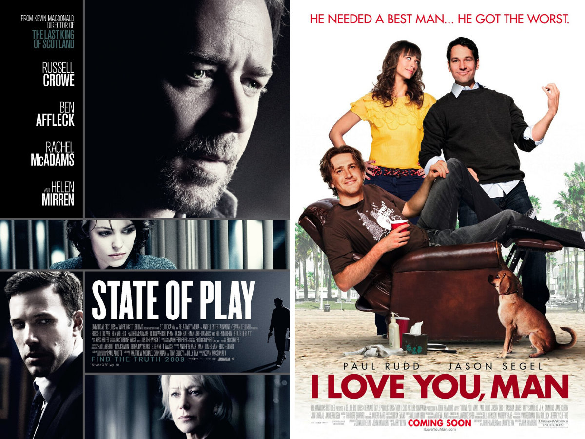 Films: Telling You What I've Seen Recently