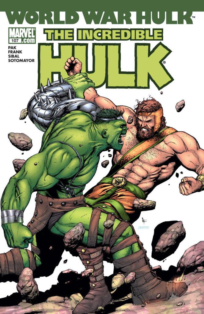 Incredible Hulk #107 cover