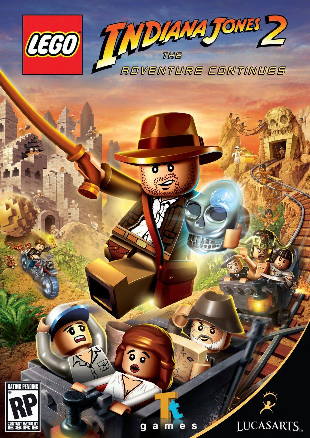 Distraction: Lego Indiana Jones 2: The Adventure Continues