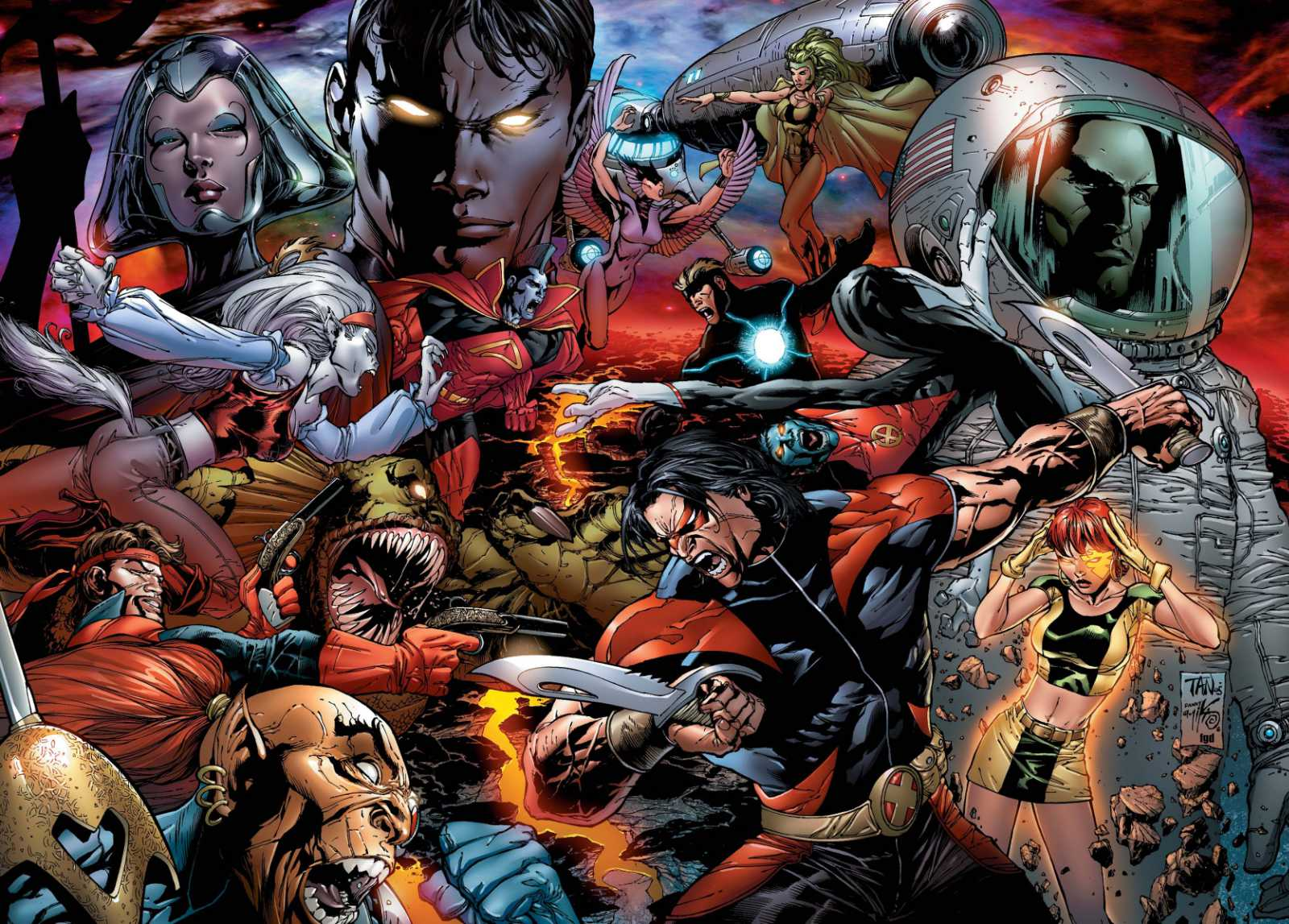 Read more about the article From A Library: Ed Brubaker's X-Men