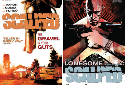 Scalped covers for volumes 4 and 5