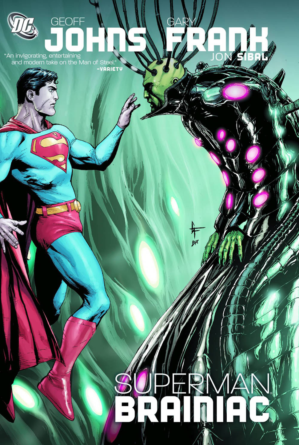 From A Library – Superman: Brainiac