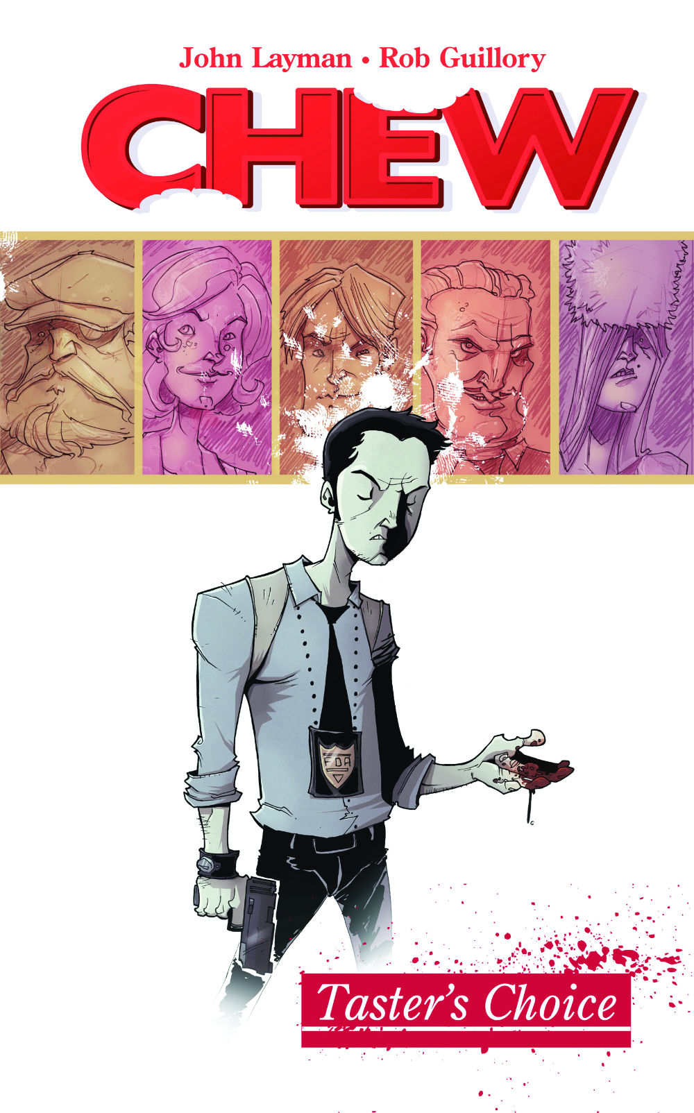Chew volume 1 cover