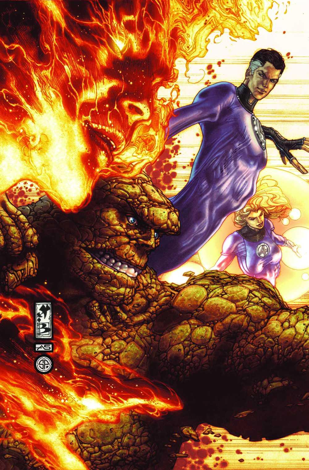 Dark Reign: Fantastic Four cover