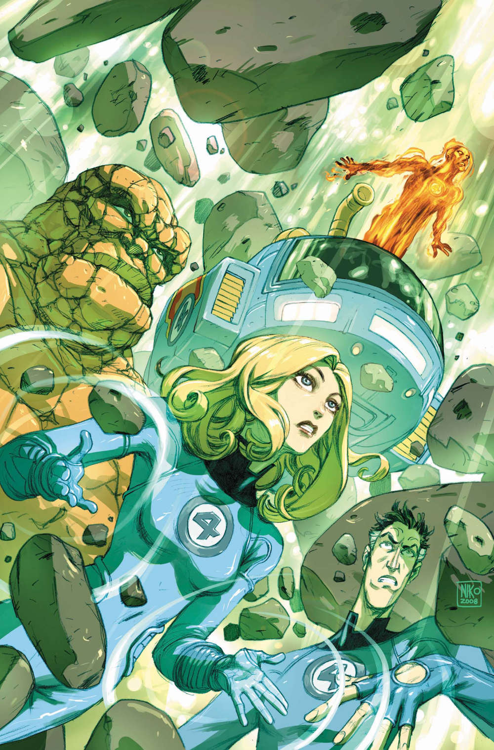 Read more about the article Fantastic Four: True Story TPB