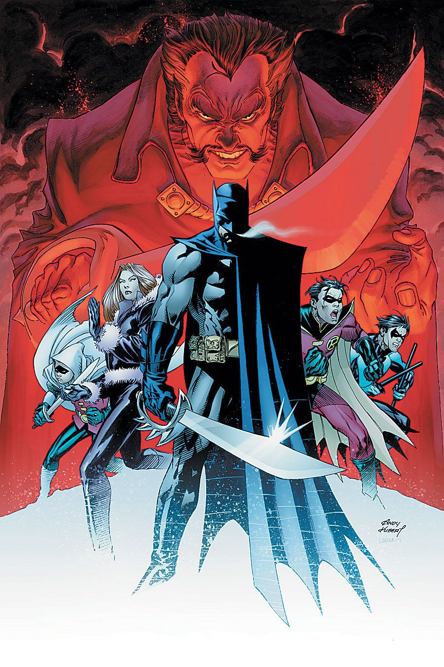 Read more about the article From A Library – Batman: The Resurrection Of Ra's Al Ghul