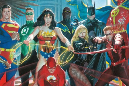 From A Library – Justice League of America: The Lightning Saga