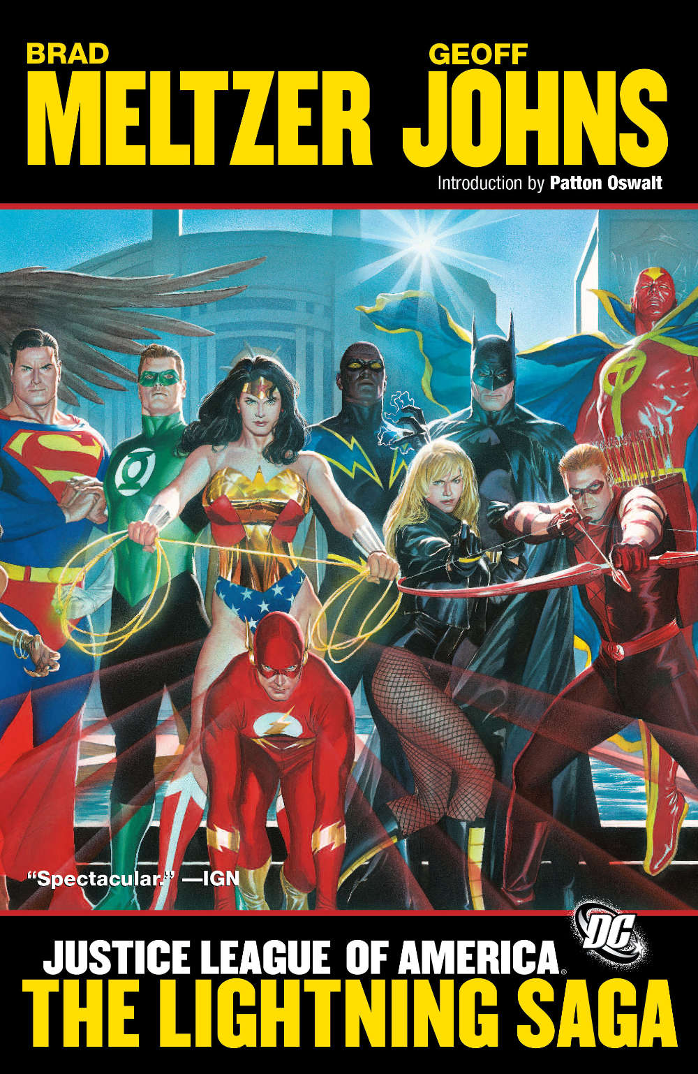 Justice League of America: The Lightning Saga cover