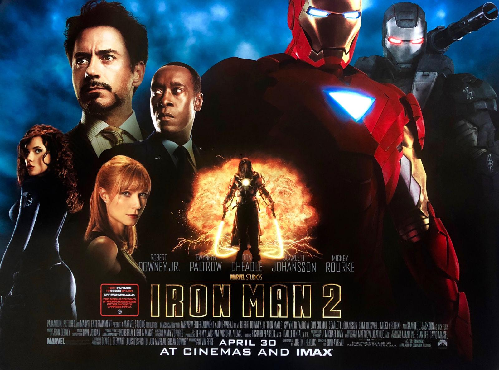 Notes On A Film: Iron Man 2