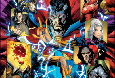 New Avengers: Search for the Sorcerer Supreme cover