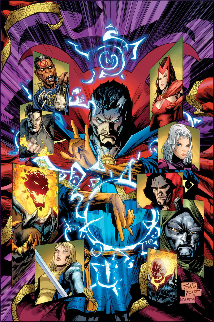 The New Avengers: Search For The Sorcerer Supreme