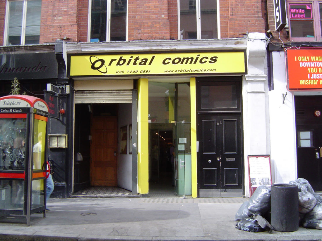 Orbital Comics, London
