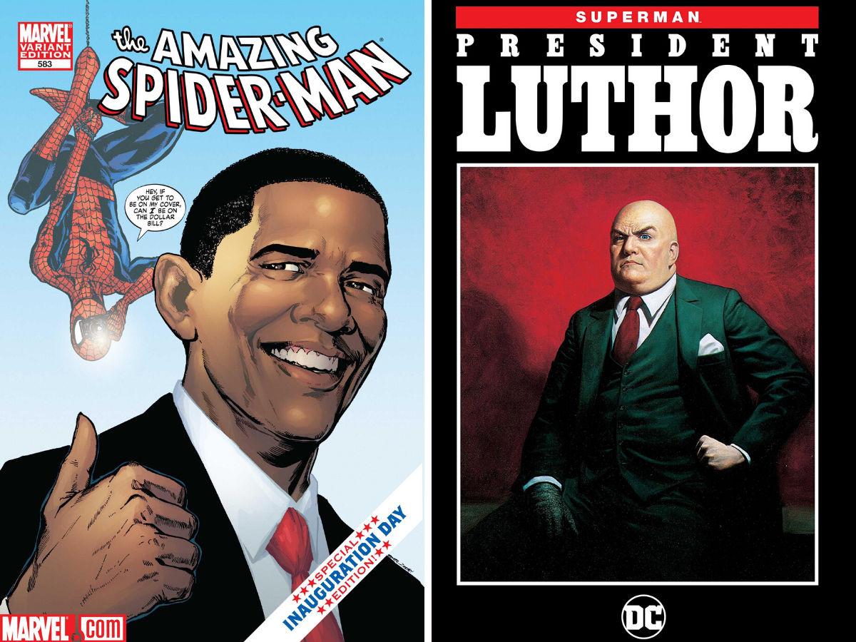 Politics And Comics