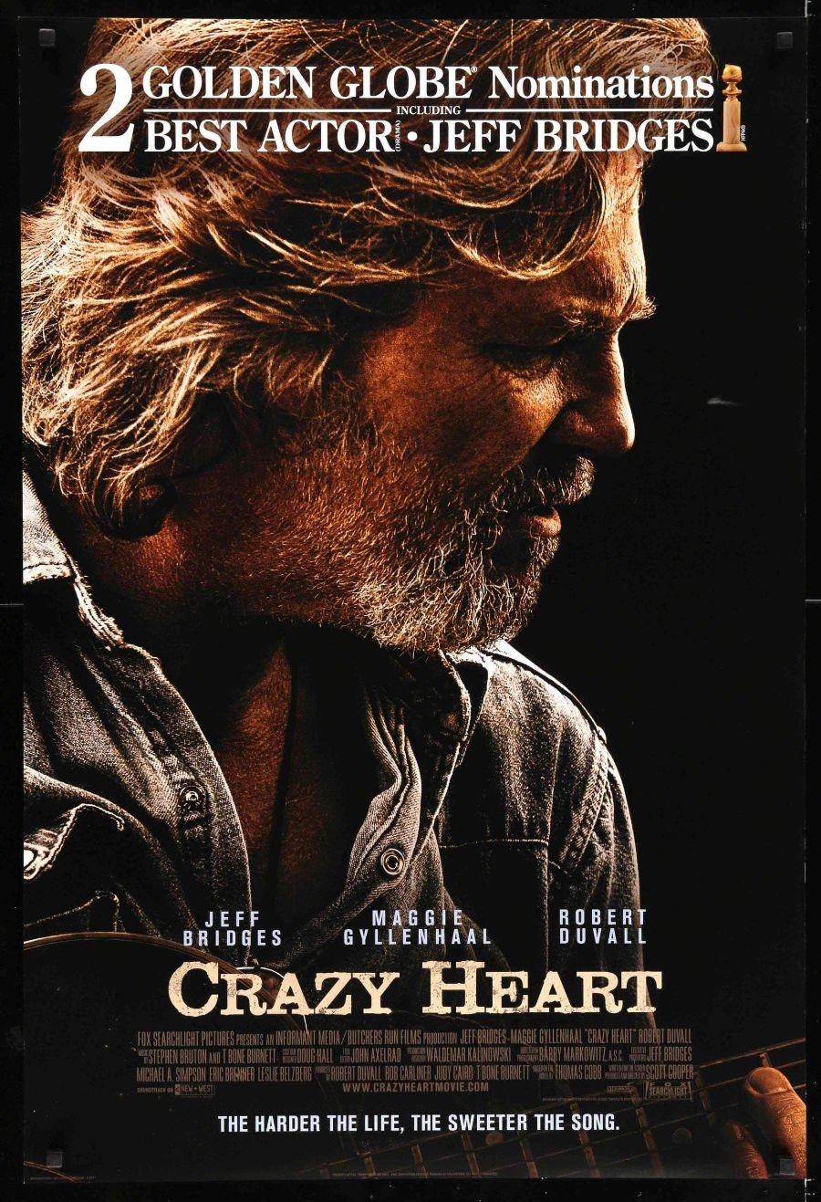 Notes On A Film: Crazy Heart